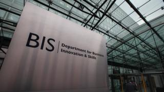 The Department for Business, Innovation and Skills in central London