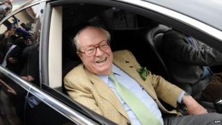 Jean-Marie Le Pen - file pic