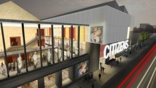 Proposed Citizens Theatre facade