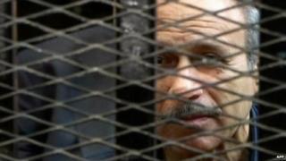 Former Egyptian Interior Minister Habib al-Adly (April 2013)