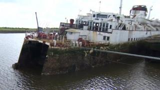 Tuxedo Royale, berthed in Middlesbrough