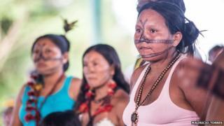 Maria Leusa Kaba Munduruku in April 2014