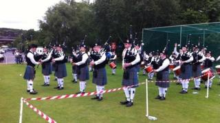 More than 100 bands from all over Ireland and Britain participated at the event