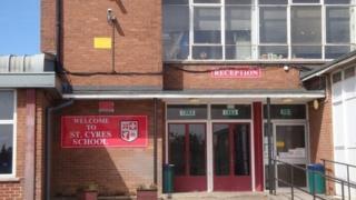 St Cyres School entrance