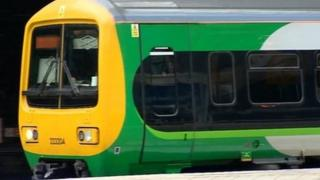 London Midland train - generic image
