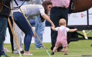 Duchess of Cambridge & Prince George