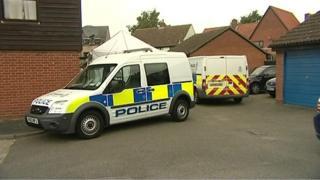 Police cars in Martlesham Heath