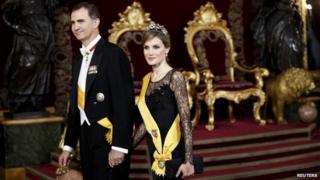 Prince Felipe and Princess Letizia. Photo: 9 June 2014