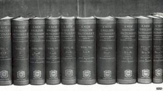 First edition of the Oxford English Dictionary, 1928