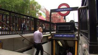 Chancery Lane Tube station