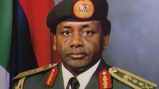 Sani Abacha on 21 July 1995