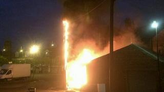 Wallsend fire