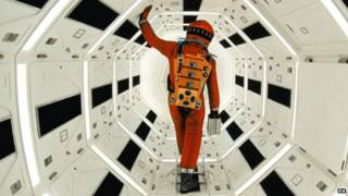 A scene from the film 2001 A Space Odyssey