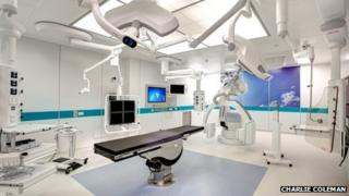 Hybrid endovascular theatre suite