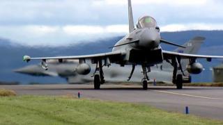 Typhoons at RAF Lossiemouth