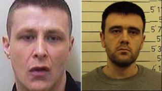 Reuben Smith and Kevin Gilbert have absconded from HMP Leyhill