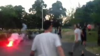 Incident at Markfield Recreation Ground