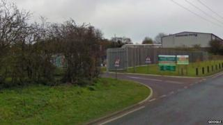 Household waste recycling centre, Bury St Edmunds