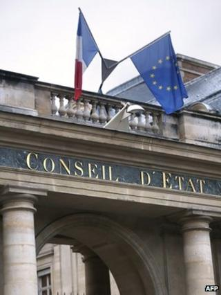 France's highest court, the Council of State (file photo)