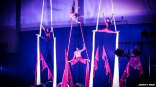 Circus Kathmandu in Dubai 2014