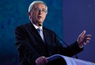 Jean-Claude Juncker (file pic)