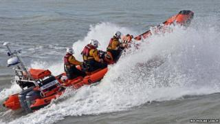 Cardigan lifeboat