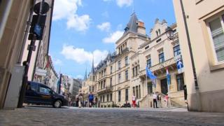 Centre of Luxembourg