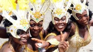 Lagos carnival participants - Nigeria, 2012