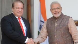 Nawaz Sharif and Narendra Modi
