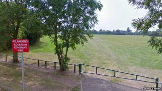 Playing fields on Bee Lane
