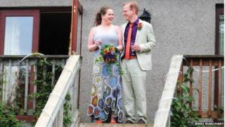 Faye Morrison and Marcus Howard