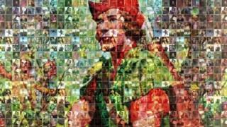Robin Hood mosaic