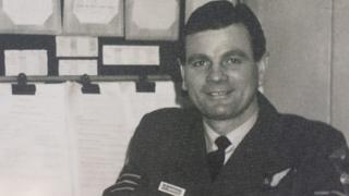 Rear Gunner Sidney Marshall