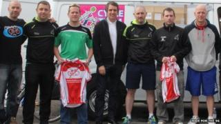 Theft victims and Steve Rotheram MP
