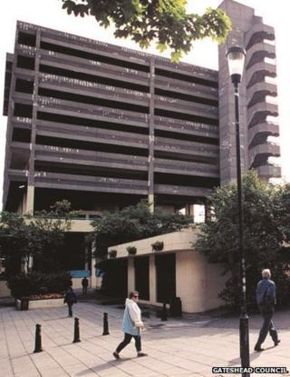 Trinity Square car park