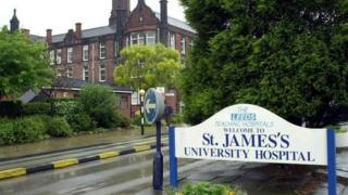 St James's Hospital in Leeds