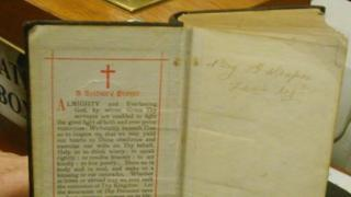Soldier's bibles found in museum