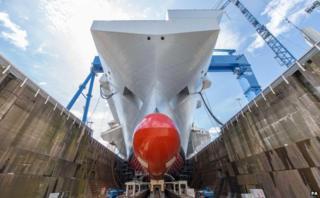 Rosyth aircraft carrier