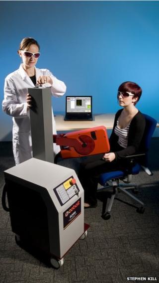 Cobalt's bone disease scanner