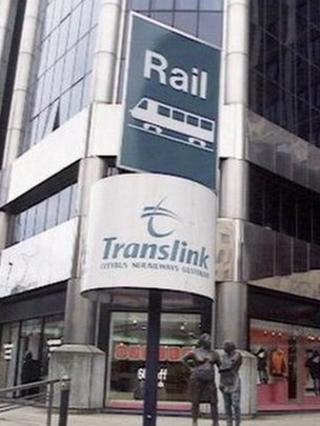Translink sign