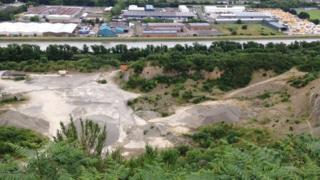 Newry quarry rave