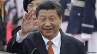 """Mr Xi is likely to discuss """"regional issues"""" with his South Korean President Park Geun-hye, papers say"""