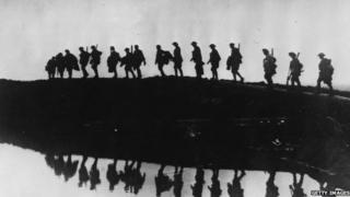 World War One soldiers