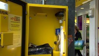 Heart defibrillator stolen from a street in Derby