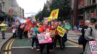 Pro-life rally