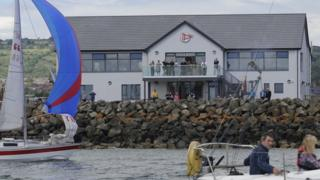 The sailing club reopened on Saturday