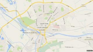 Google map of Lincoln