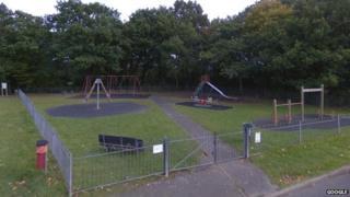 Hunter's Chase playground, South Godstone