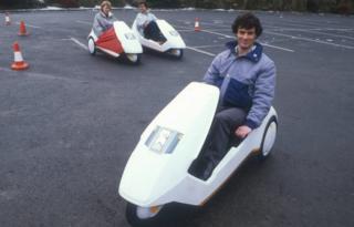 Sinclair C5 vehicles