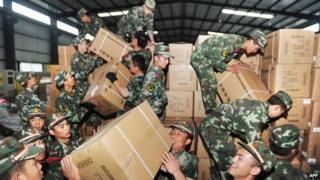 Questions are asked why China is spending money on foreign aid
